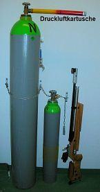 Druckluft für den Schießsport (Luftgewehr)