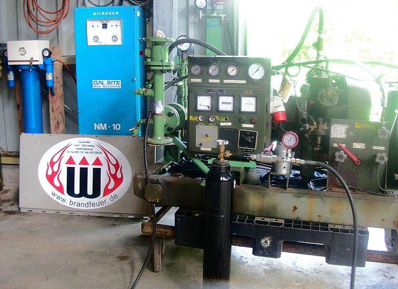 Stickstoff-Erzeugungsanlage (N2)